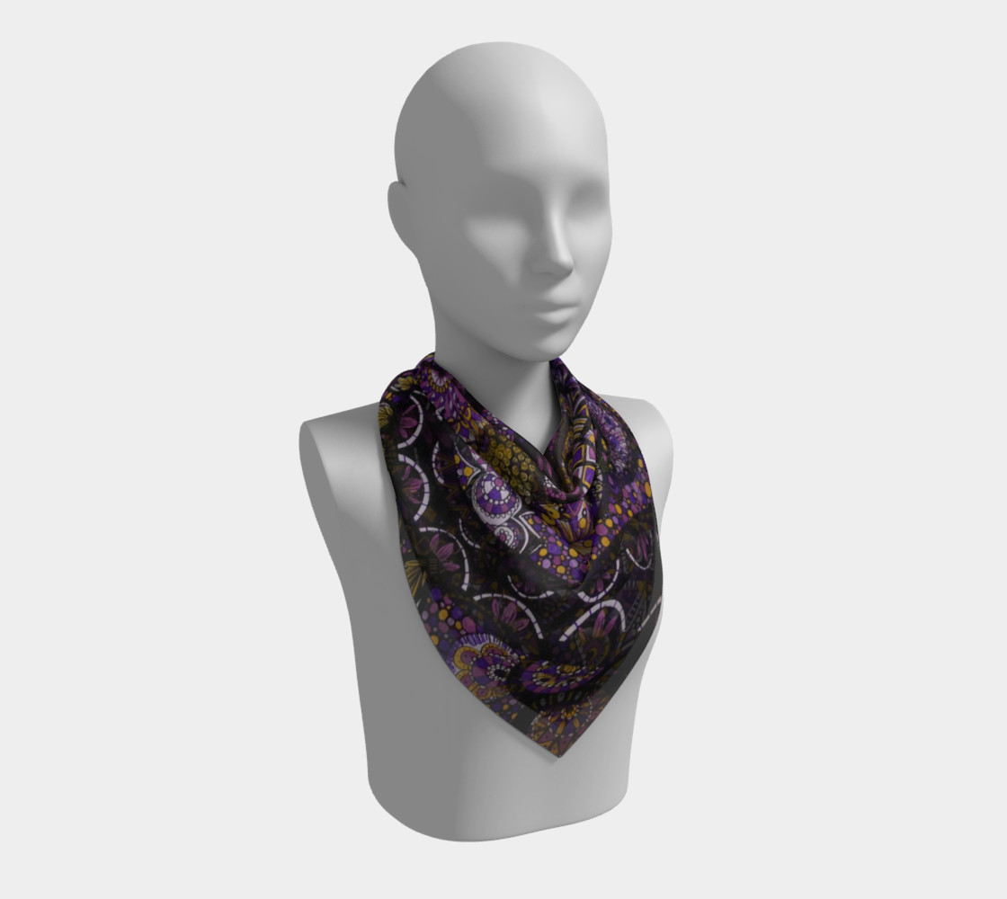 Purple Madness Scarf Part II preview #2