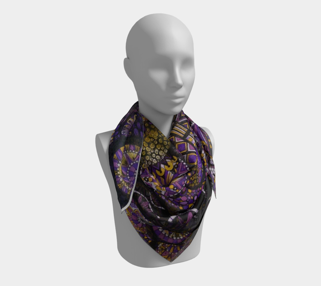 Purple Madness Scarf Part II preview #3