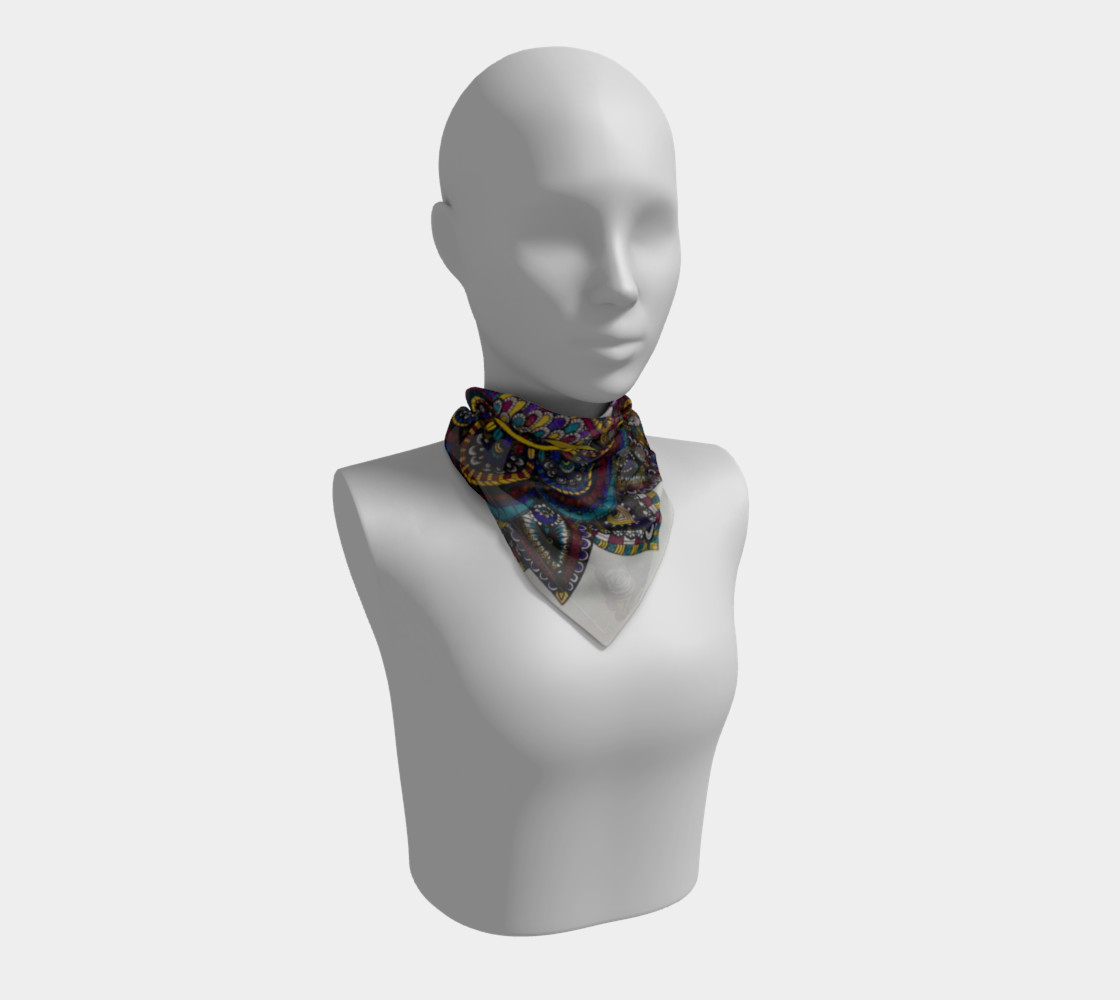Funky Fresh Scarf Part II preview #1