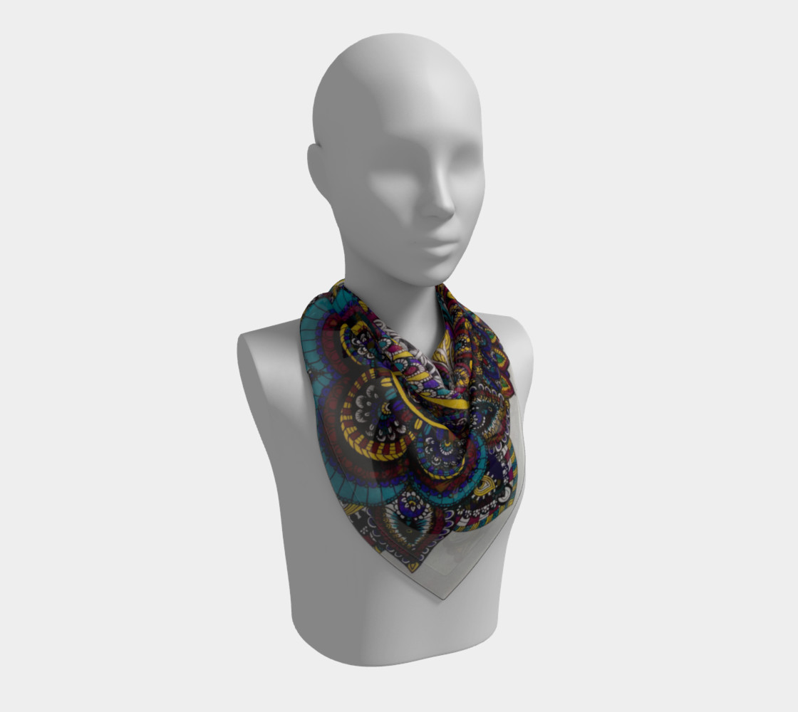 Funky Fresh Scarf Part II preview #2