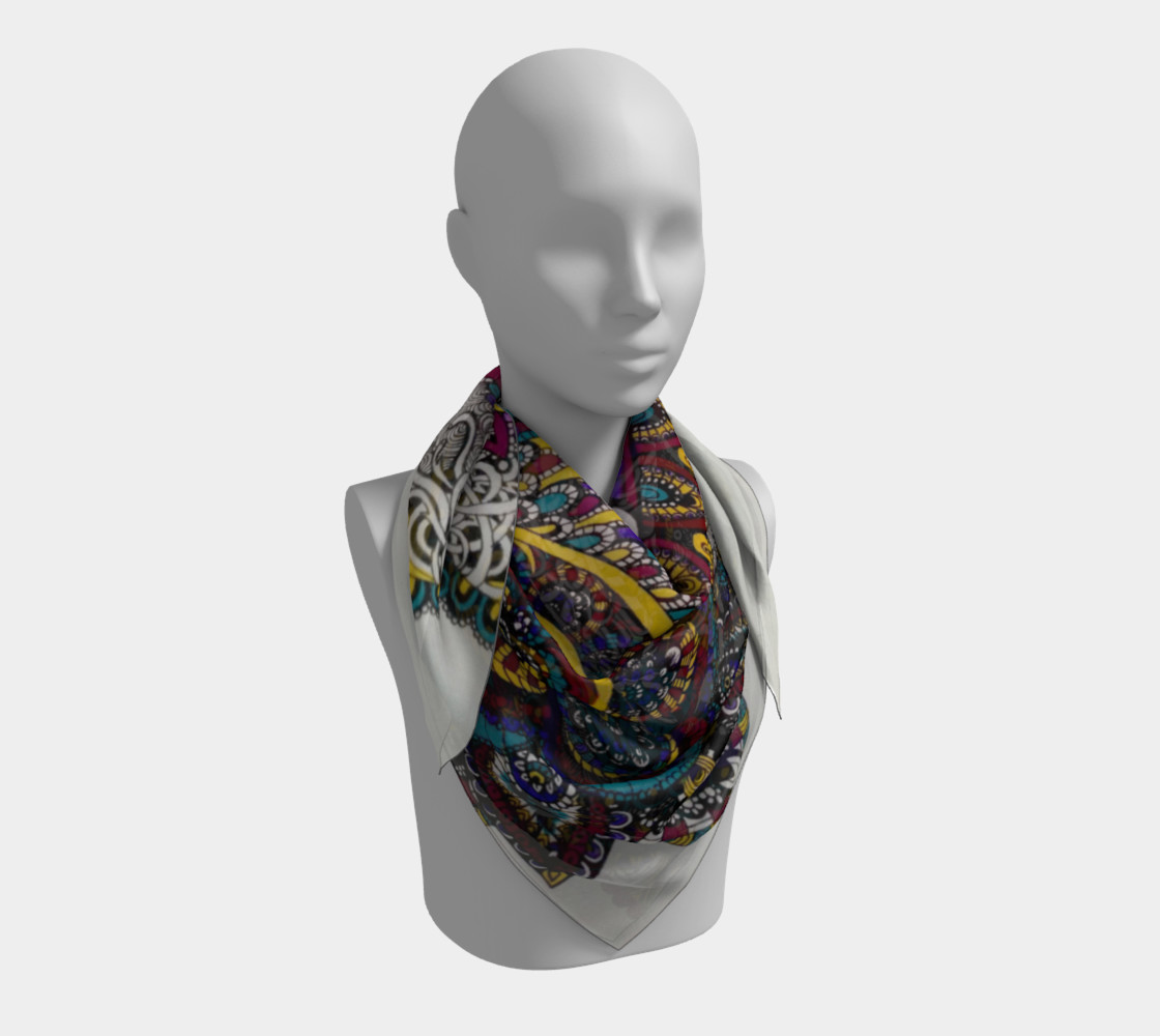 Funky Fresh Scarf Part II preview #3