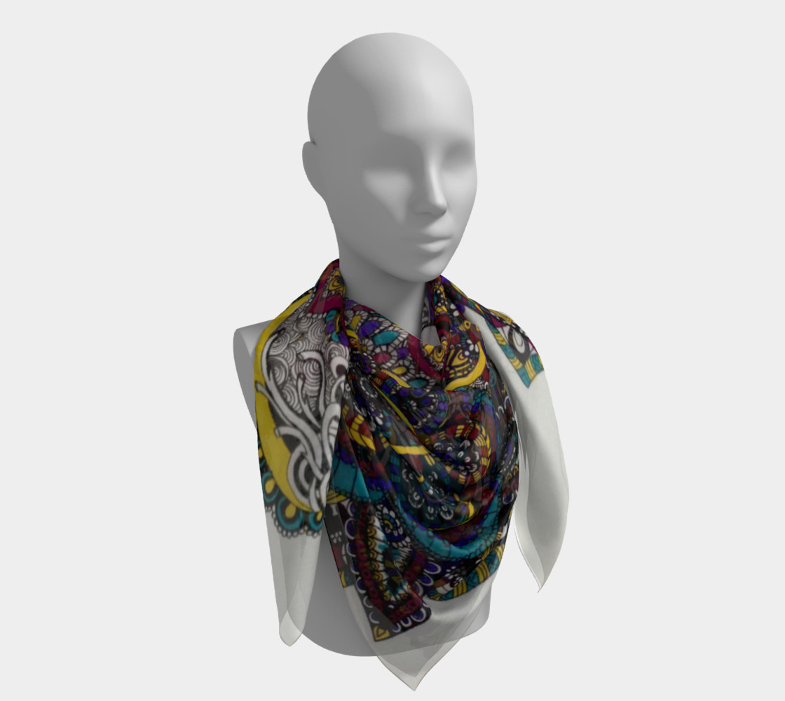 Funky Fresh Scarf Part II preview #4
