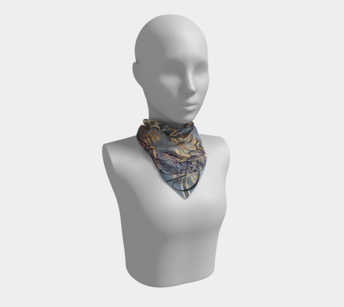 Sunset Dance Square Scarf preview #1