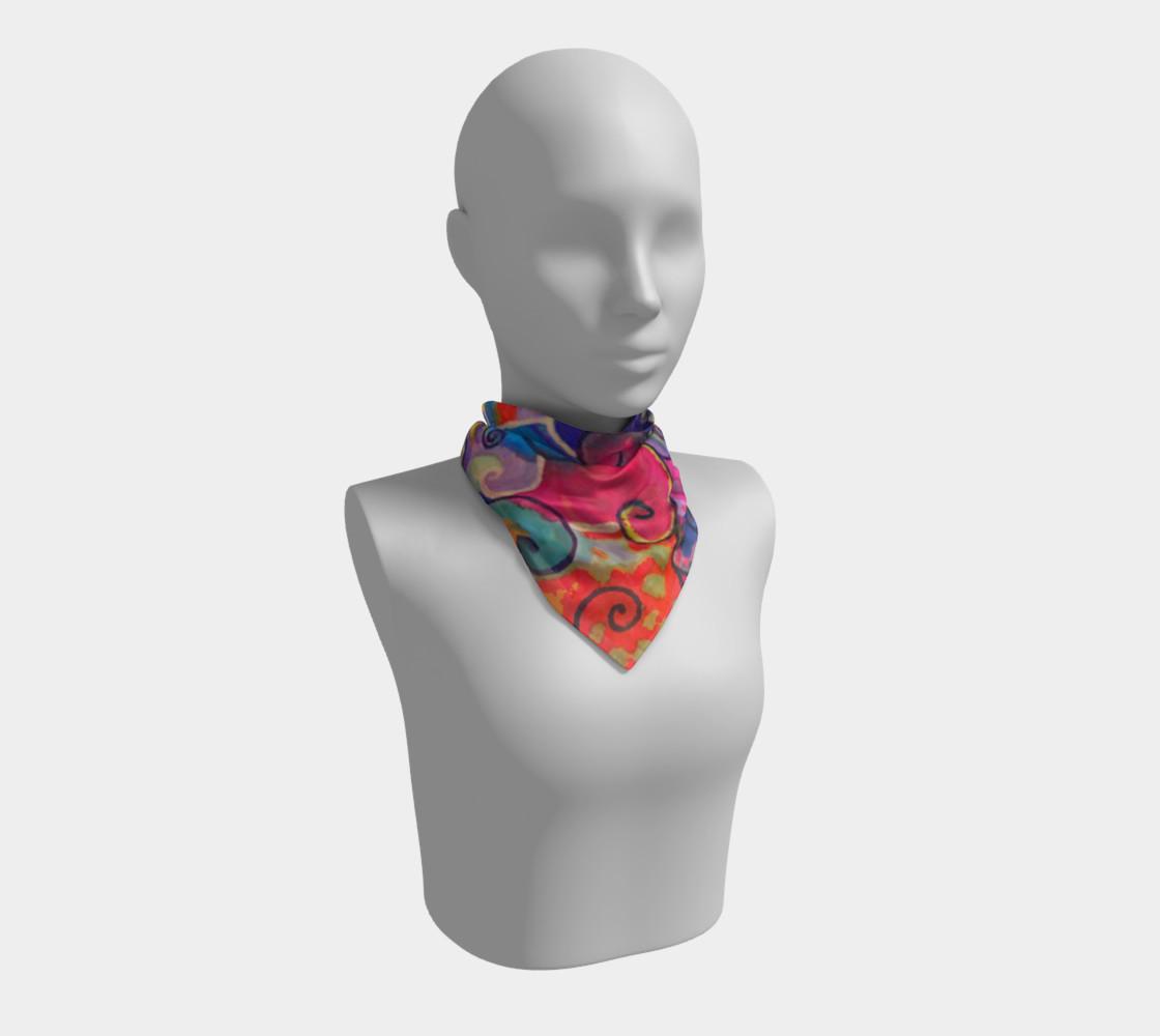 TanzMalSquareScarf preview #1