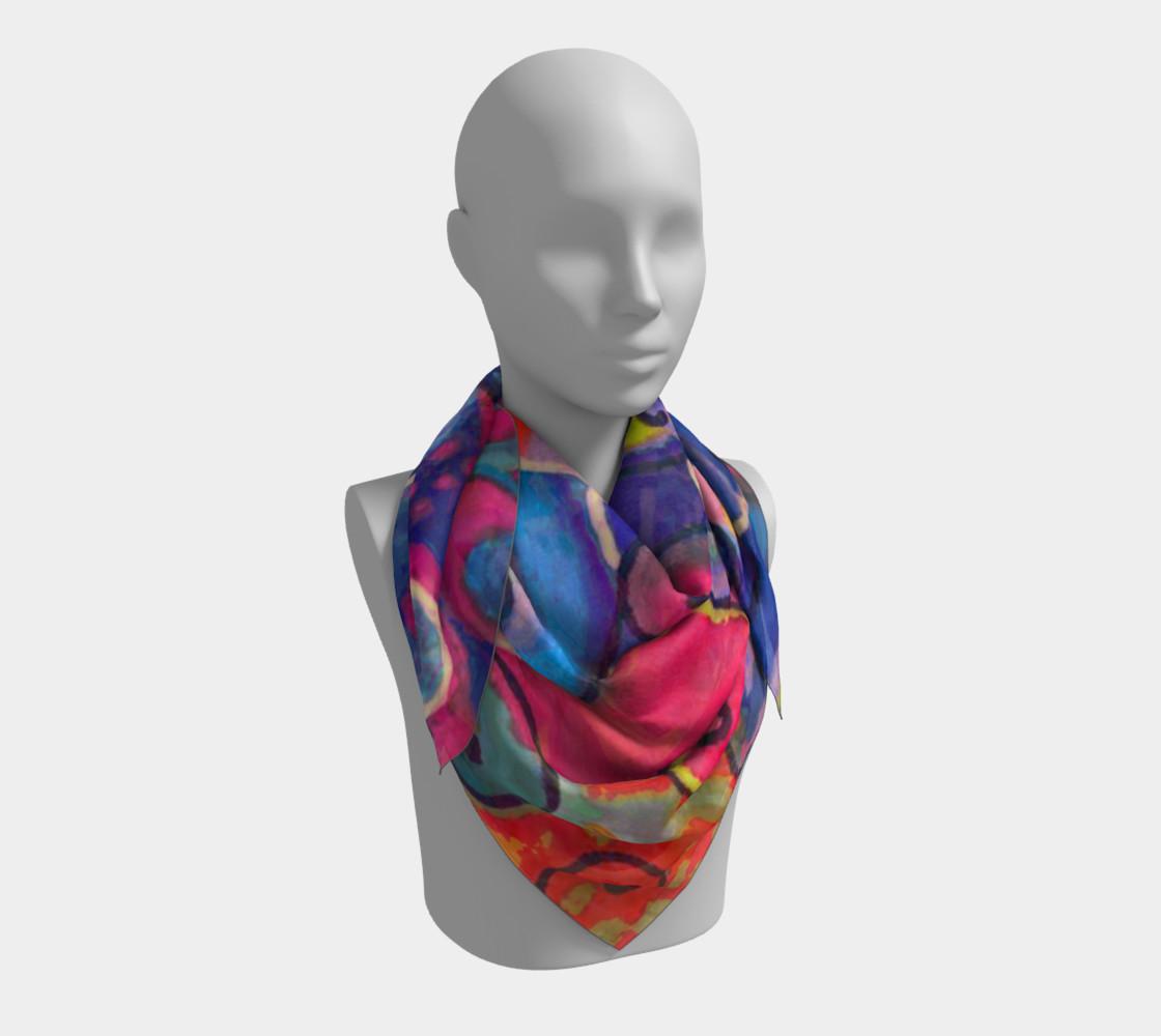 TanzMalSquareScarf preview #3