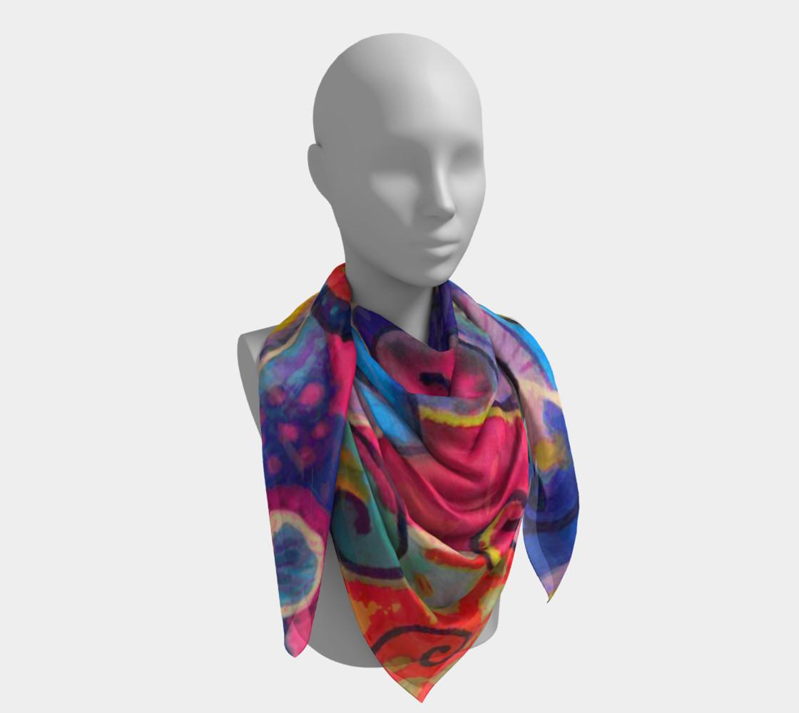 TanzMalSquareScarf preview #4