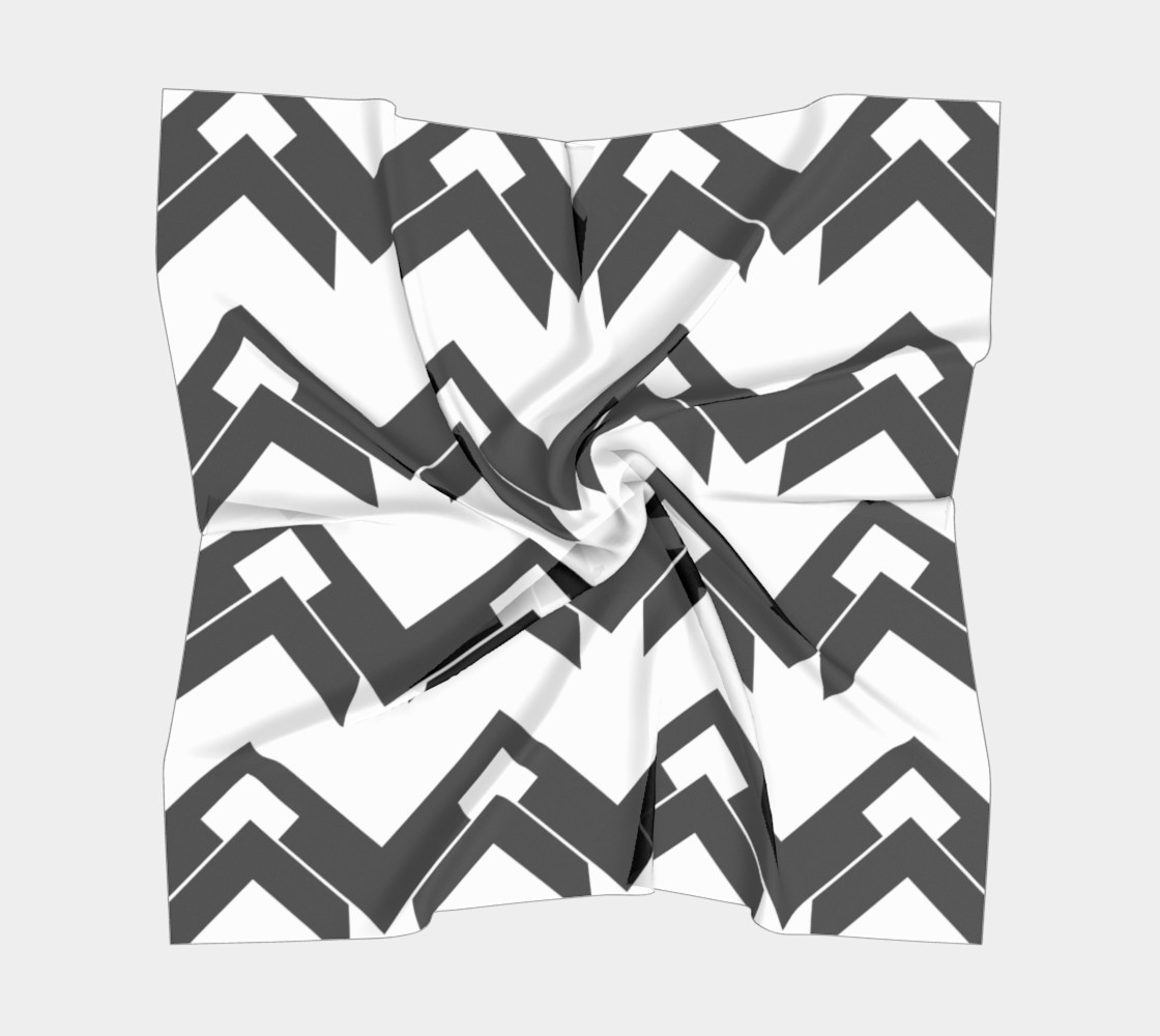 Chevron black and white  thumbnail #6