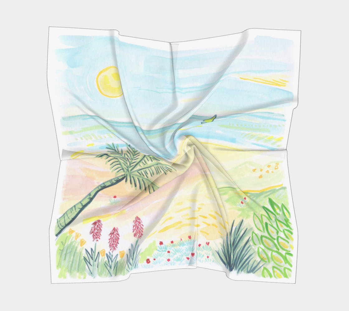 Aperçu de Beach Day 1 Watercolor / Guache #5