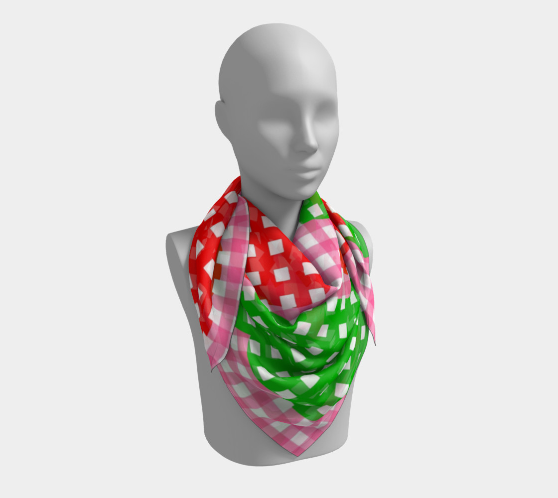 Summer Pick nick Square Scarf preview #3