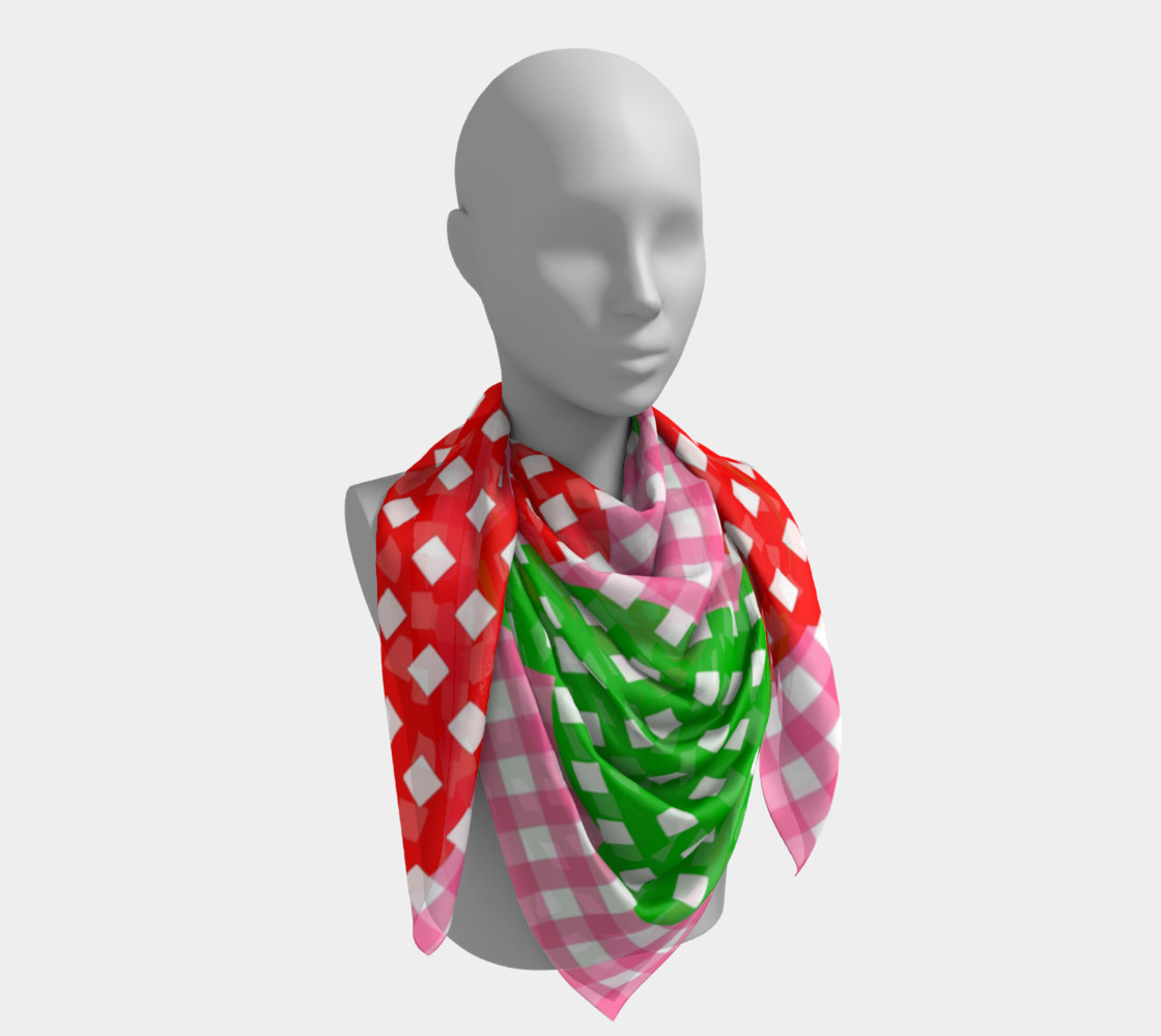 Summer Pick nick Square Scarf preview #4