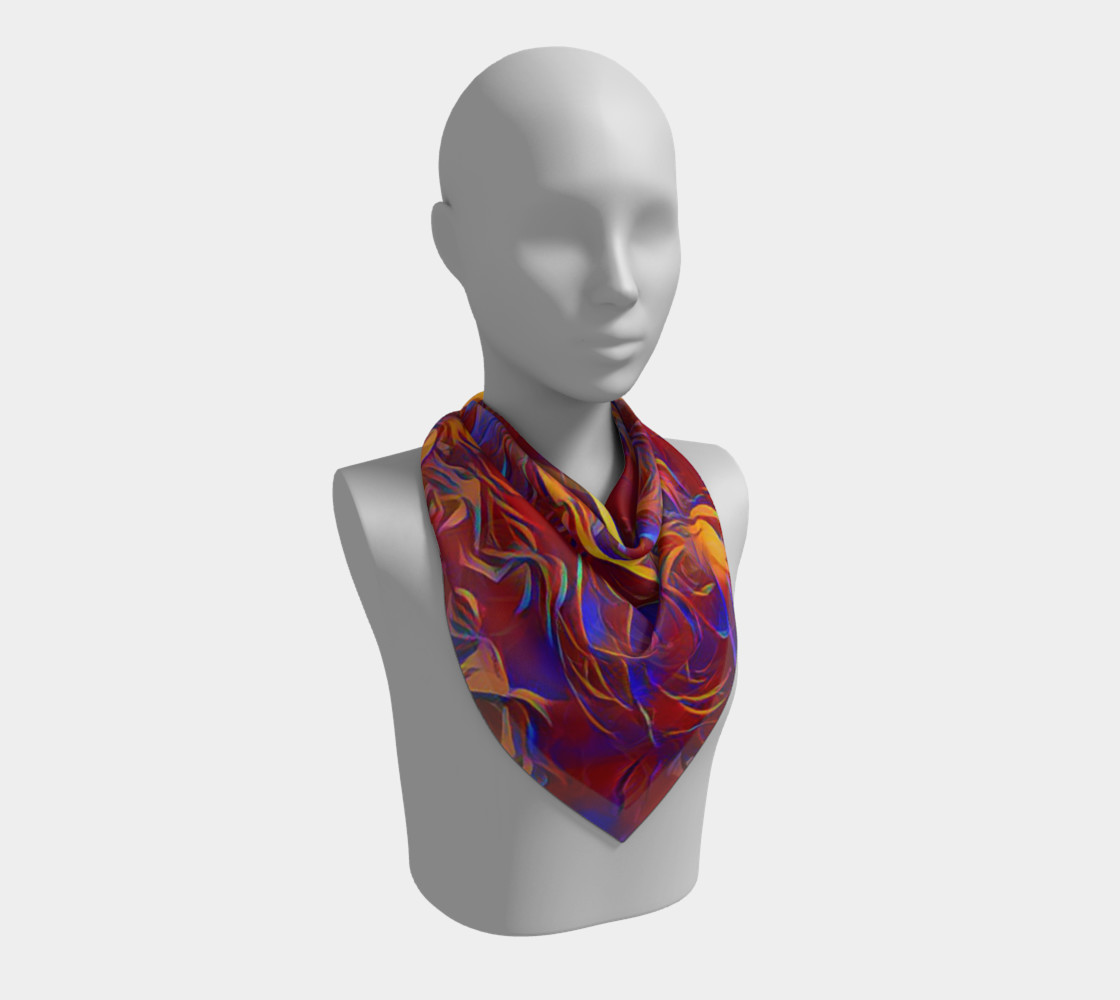 October Afternoon Square Scarf preview #2
