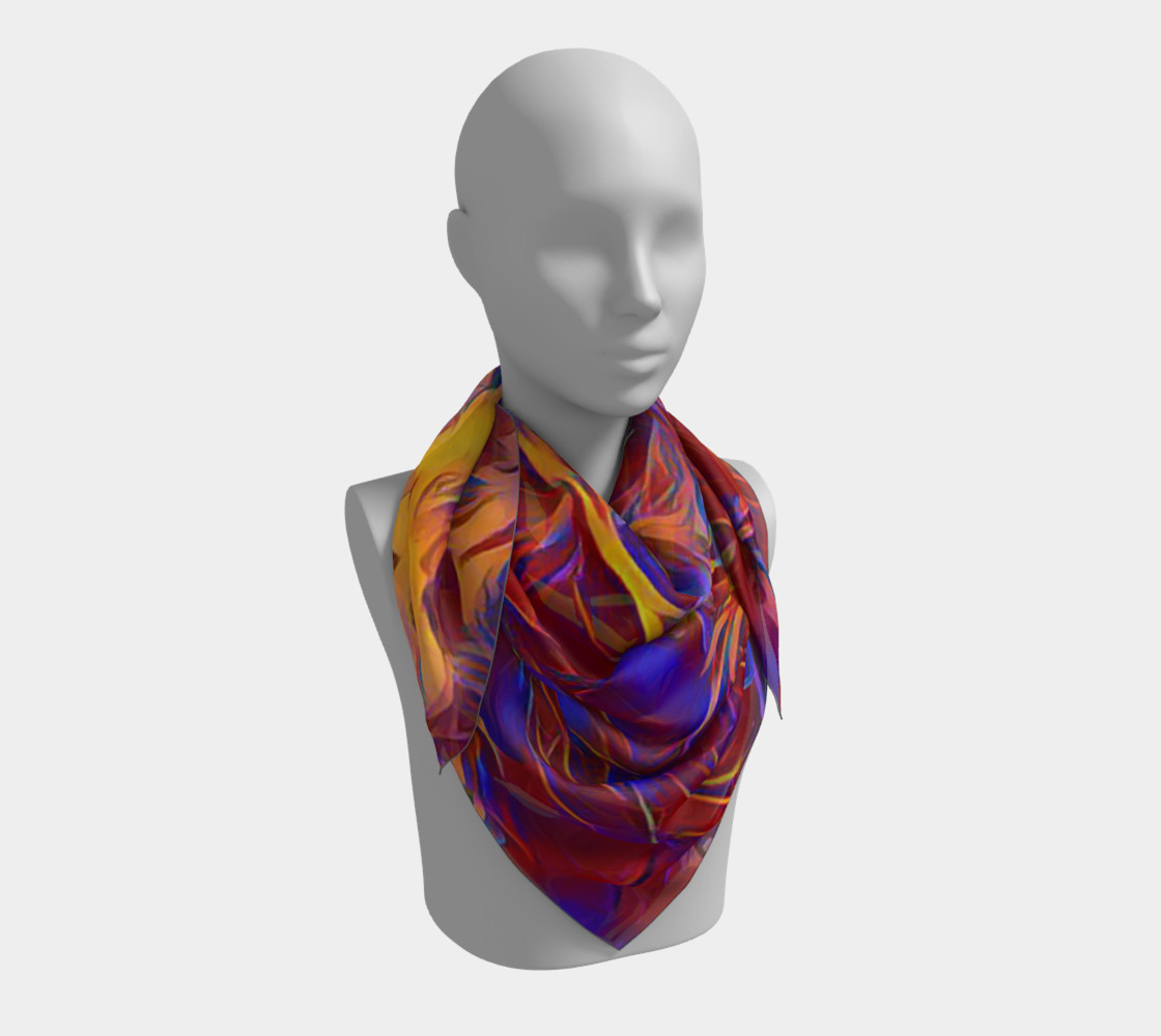 October Afternoon Square Scarf preview #3
