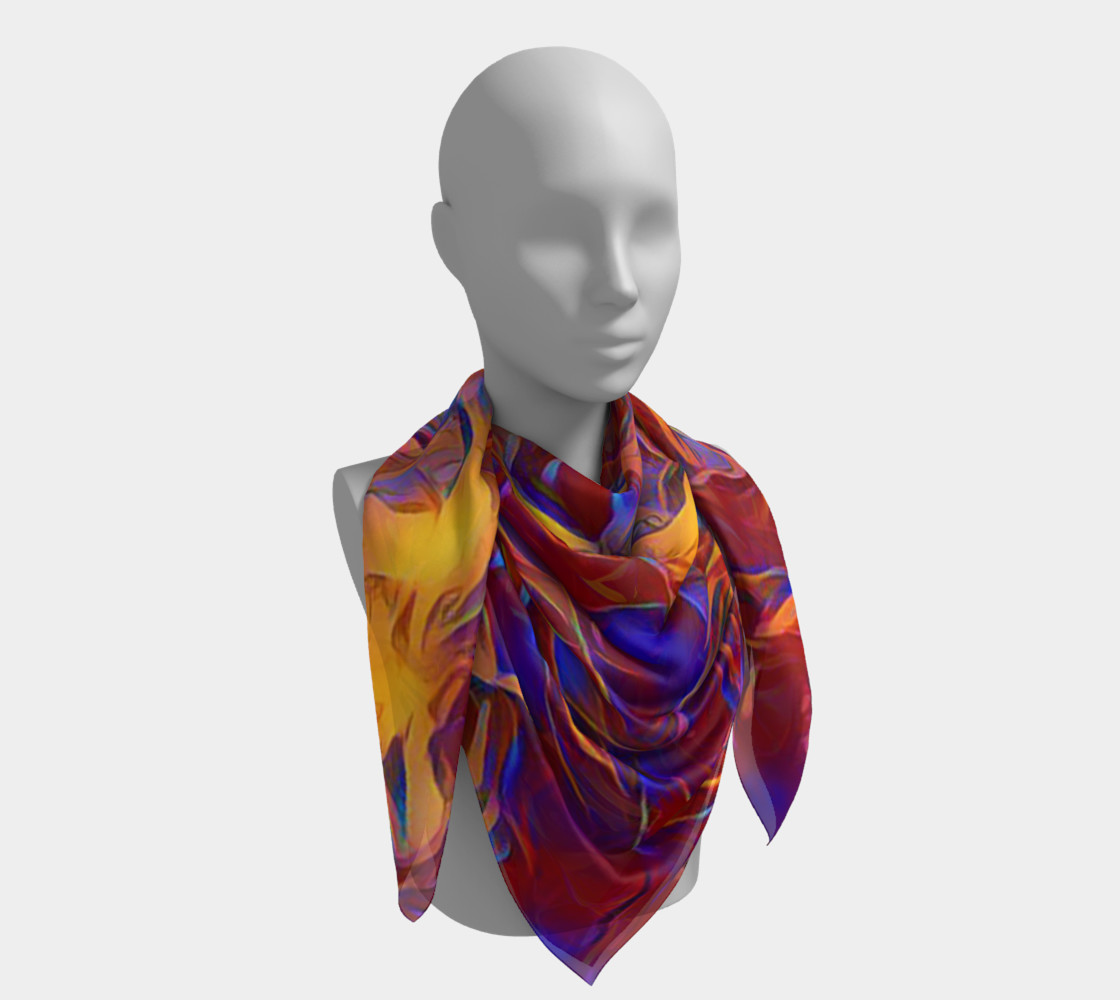 October Afternoon Square Scarf preview #4