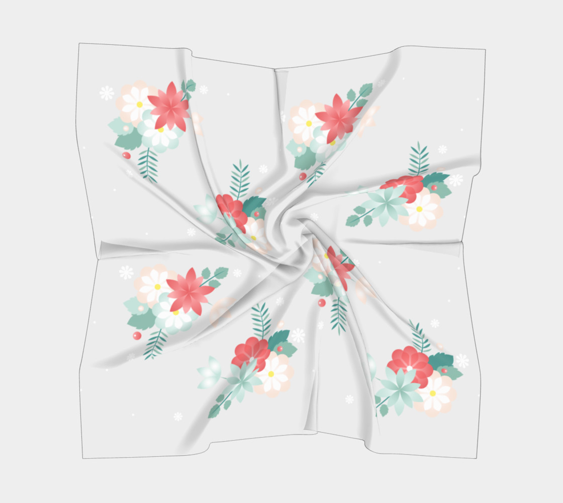 Floral Scarf preview #5