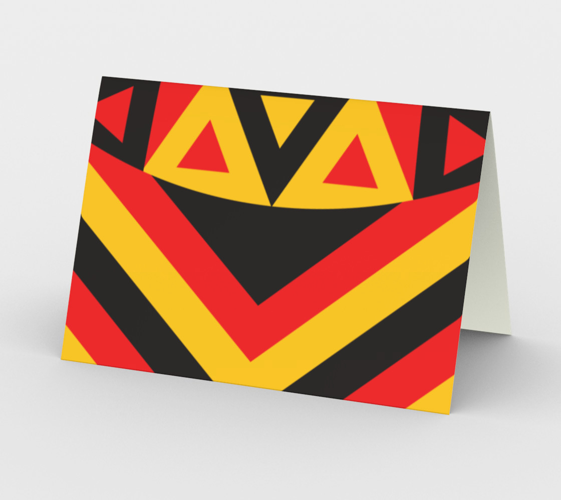red yellow aboriginal preview #2