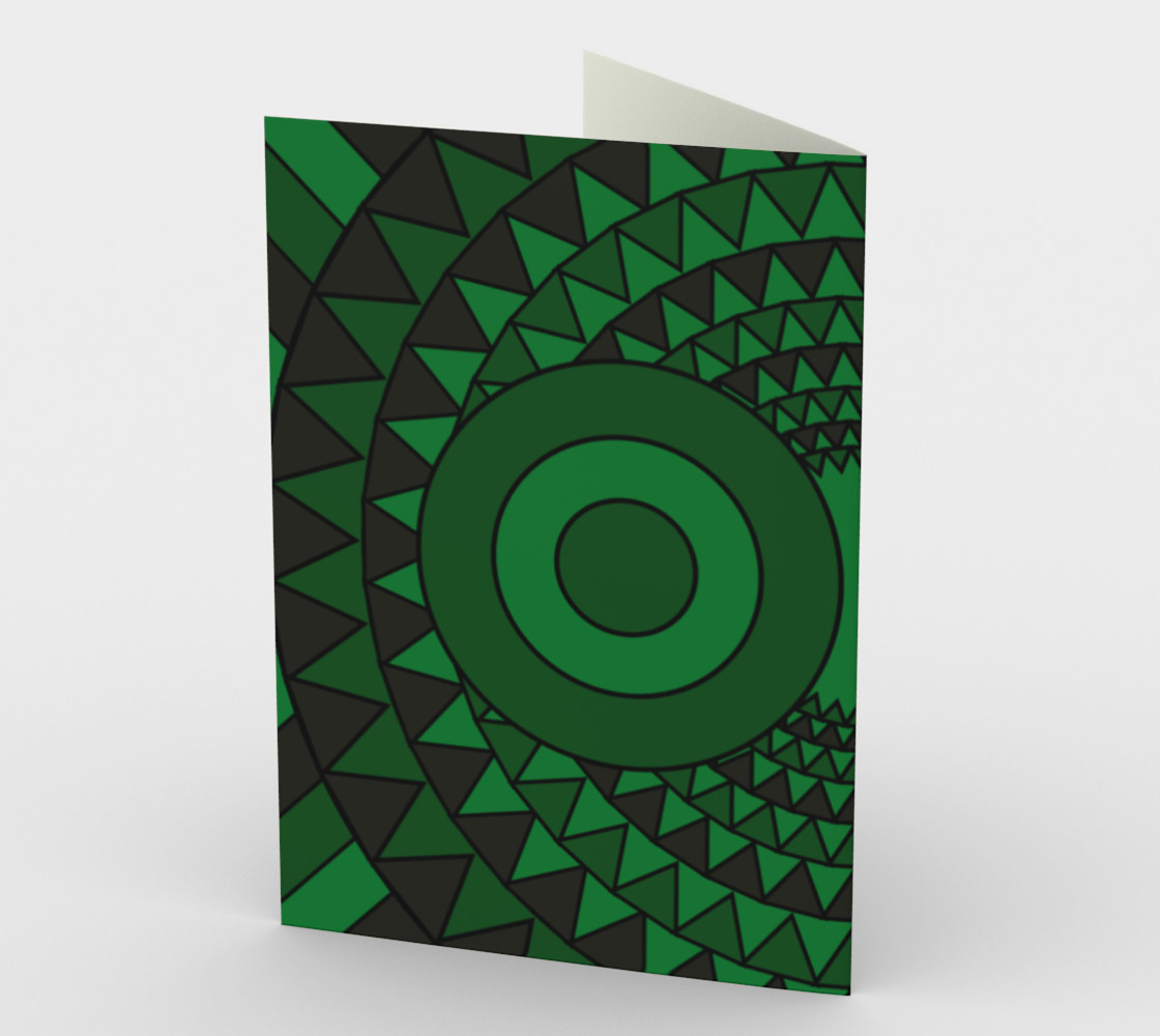Polychrome Owl Green preview #2
