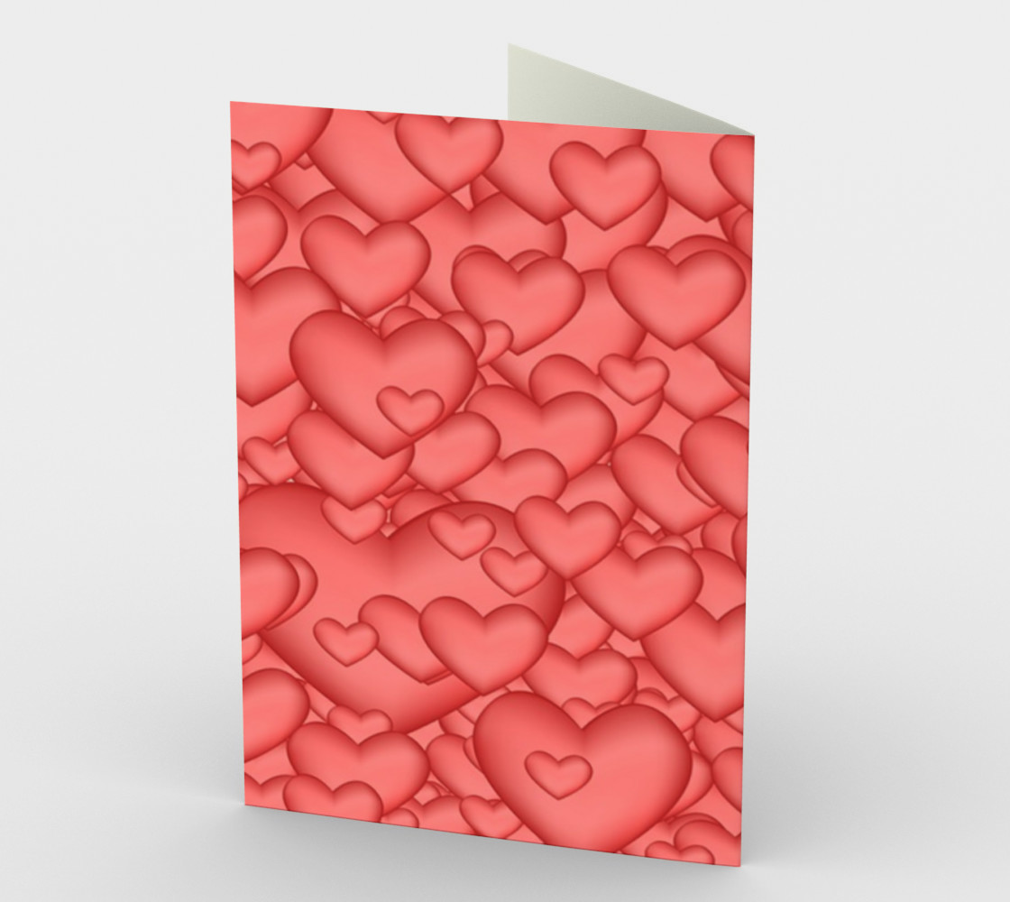 Not So Red Valentine greeting card preview #2