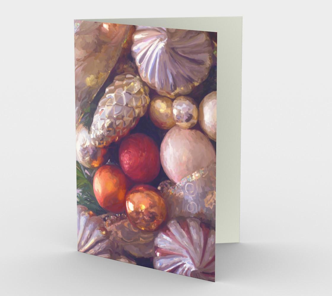 Aperçu de Christmas shine card #1