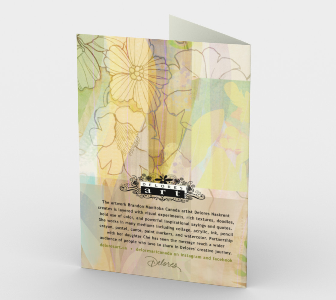 1066.You Are The Reason We Stand Strong Card by Deloresart preview #2