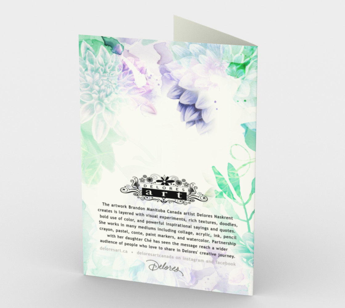 1192. So Blessed You're My Grandma Card by Deloresart preview #2