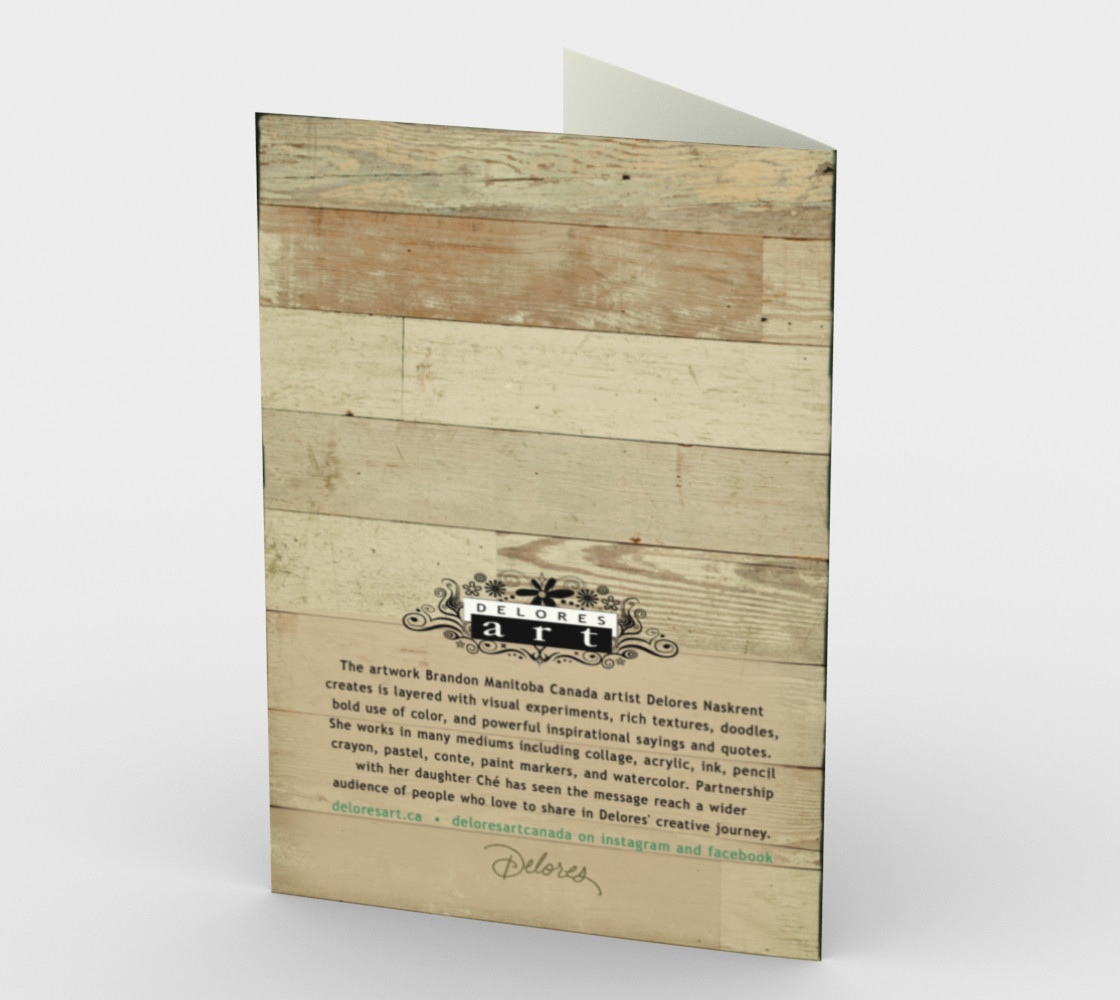 1216 Life Doesn't Come With A Manual - Dad Stationery Card by Deloresart preview #2