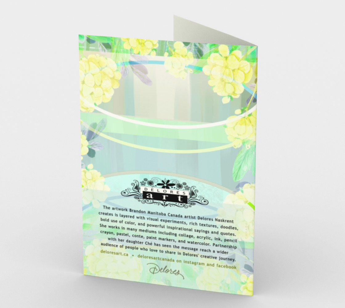 1275 No Act Of Kindness Stationery Card by Deloresart preview #2