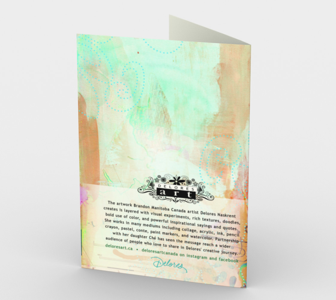 1356 Bon Voyage Stationery Card by Deloresart preview #2