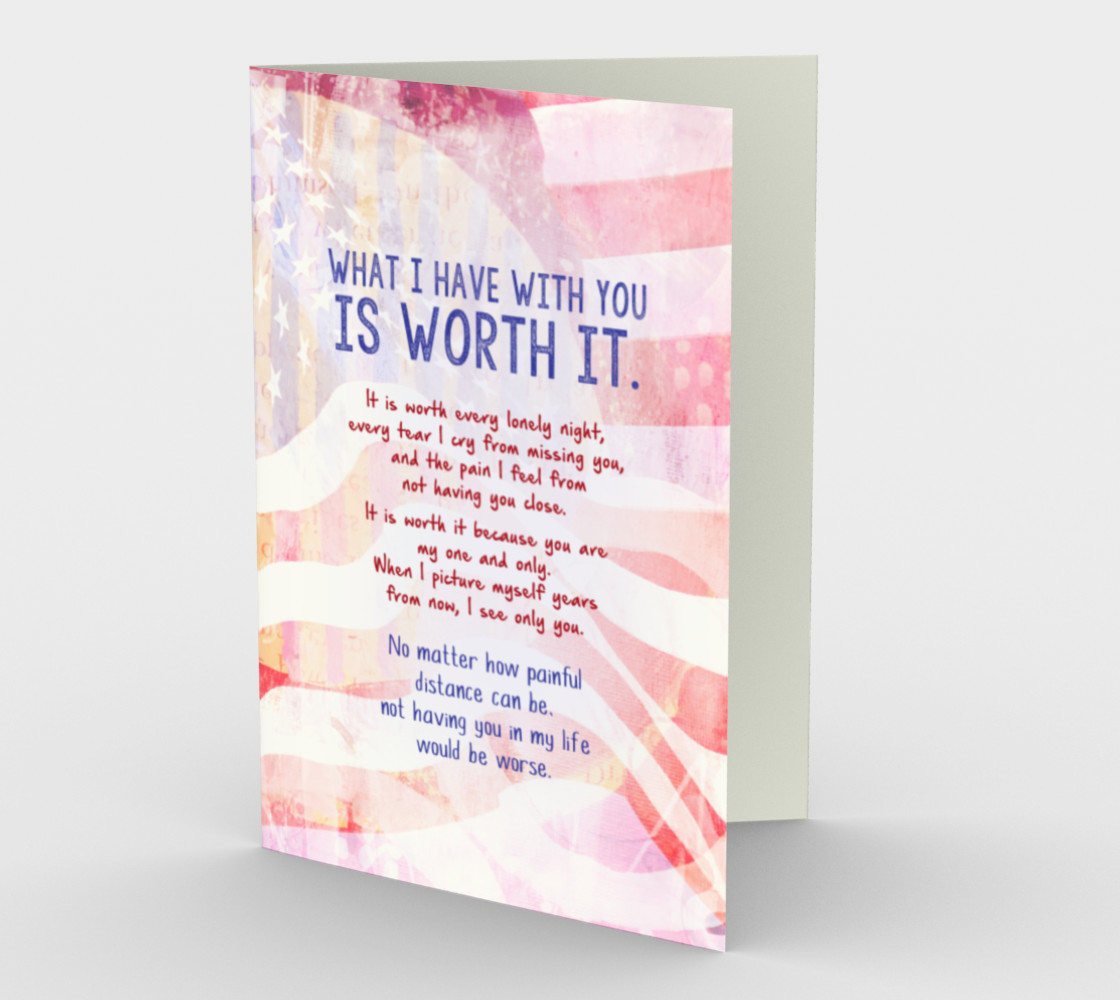 1391 What I Have With You Is Worth It Stationery Card by DeloresArt preview #1