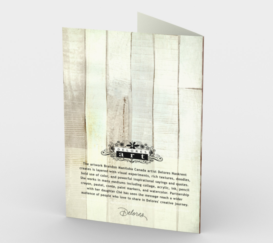 1397 Another Day, Another Blessing Stationery Card by DeloresArt preview #2
