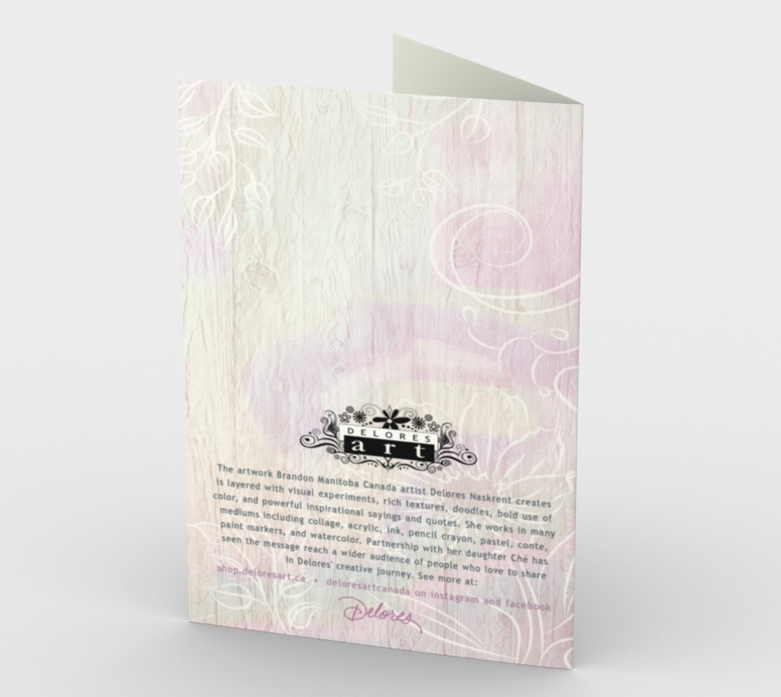 0620 The Tide Recedes Sympathy Card by Deloresart preview #2