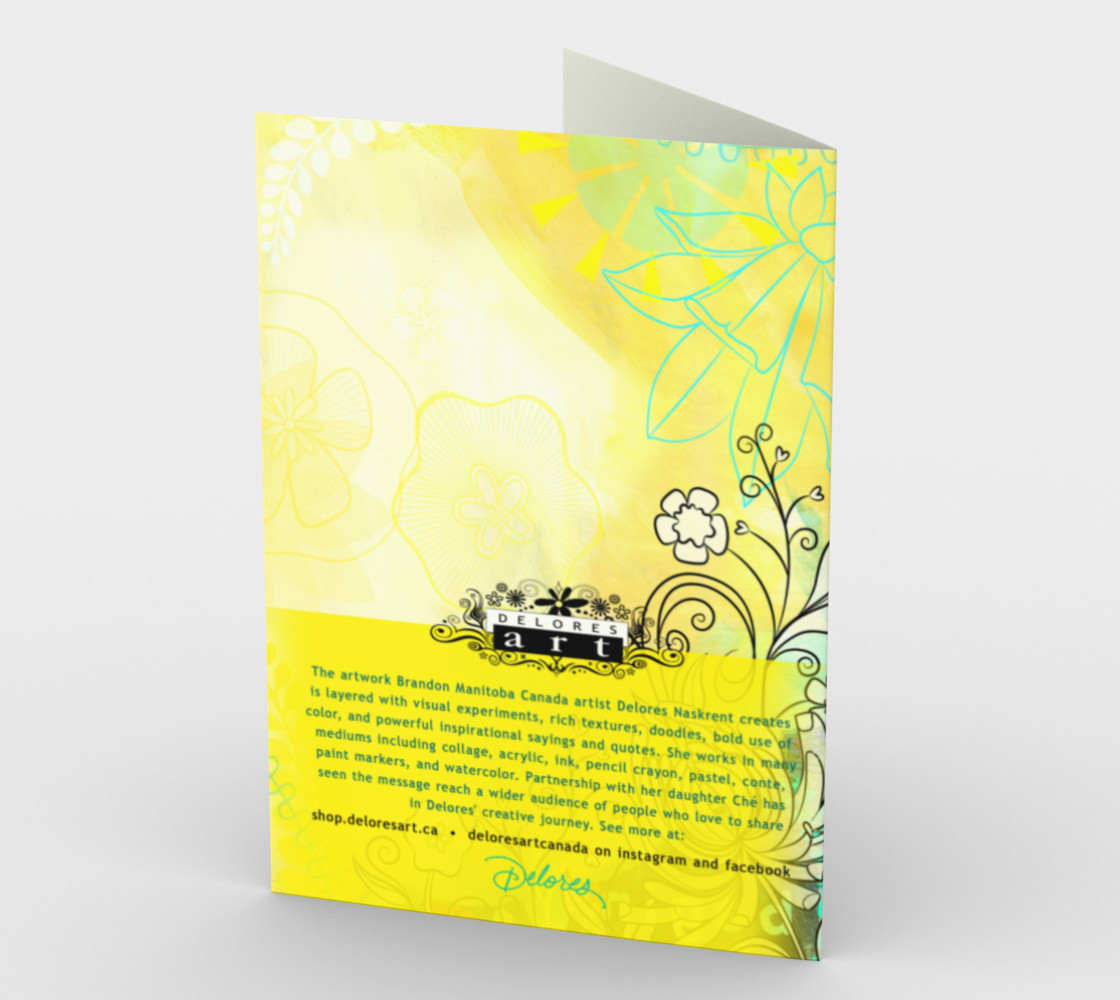 0833 God's Garden Card by Deloresart preview #2