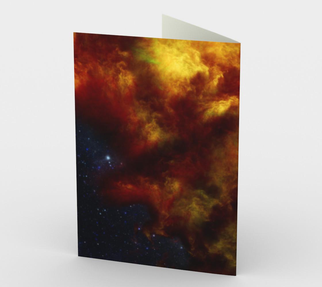 Nebula Storm ENH Greeting Card preview #2