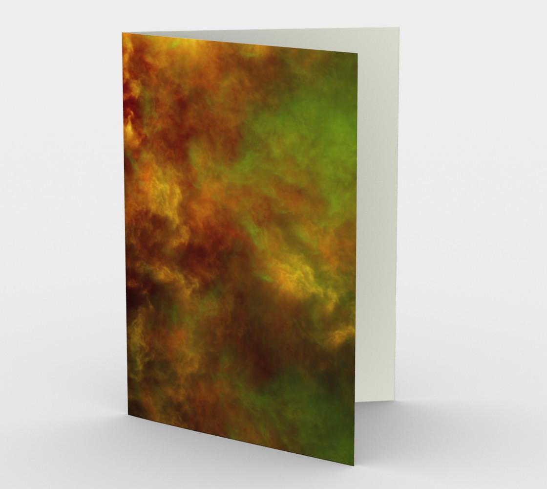 Nebula Storm ENH Greeting Card preview #1