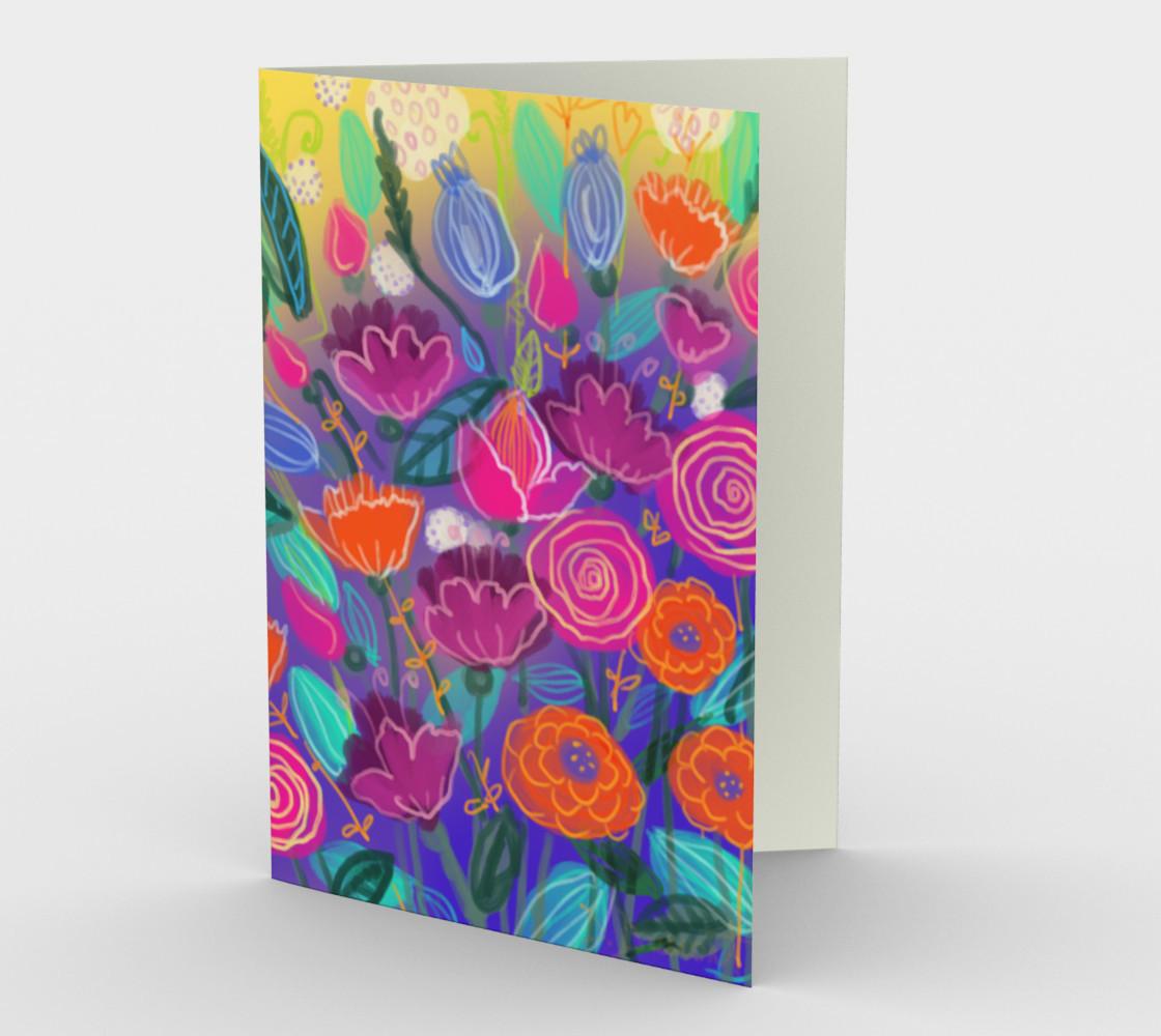 Aperçu de Carte Floral 2 #1