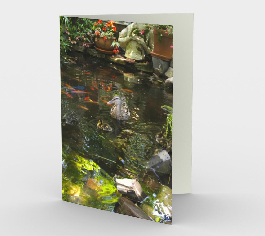 Aperçu de Cafe Santropol - Gold Fish Pond with Ducks #1