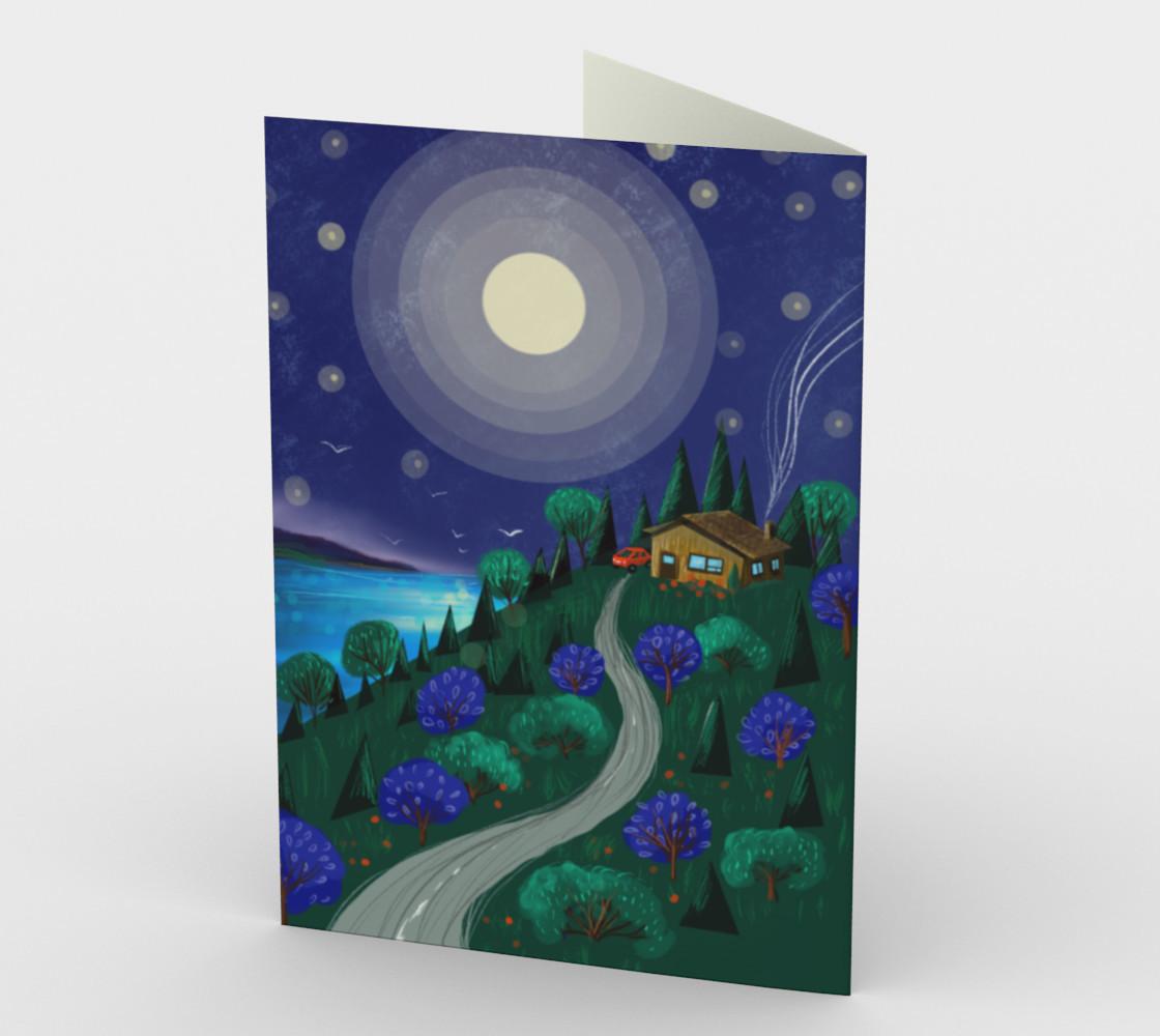 Carte Le chalet sous la lune preview #2