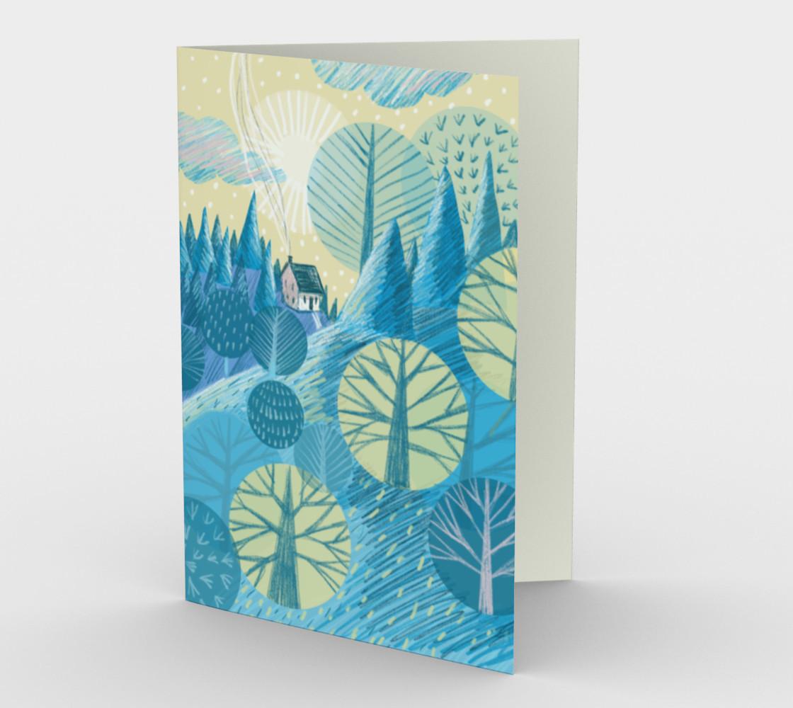 Carte Le bleu paysage preview #1