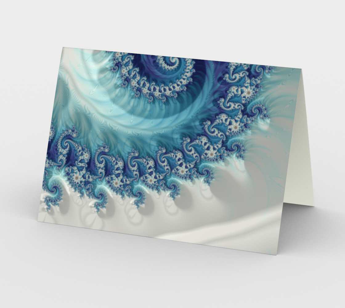 Aperçu de Sound Of Seashell Greeting Card #2