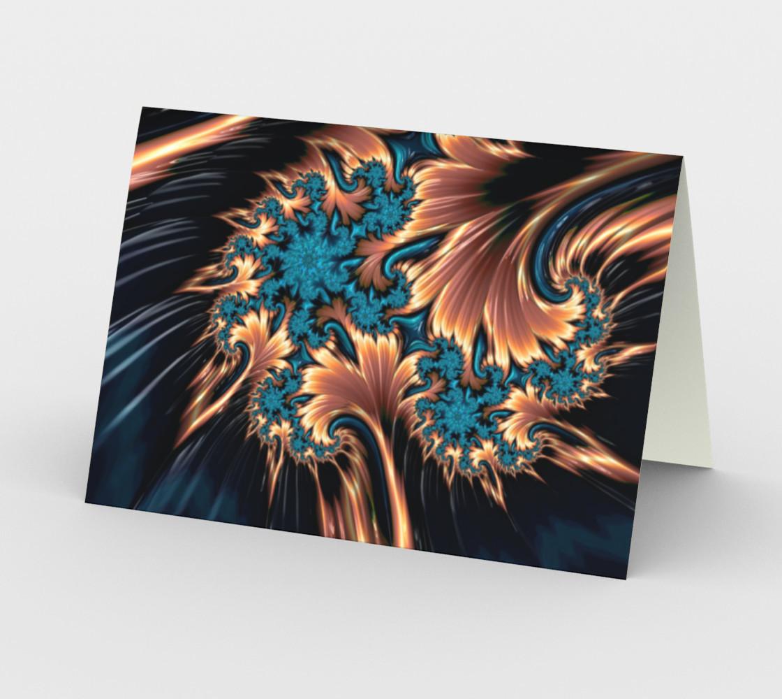 Aperçu de Fire of Ice Greeting Card #2