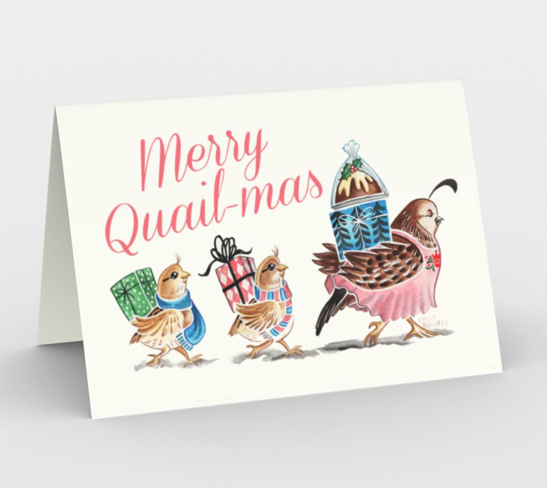 Merry Quail-mas preview #1