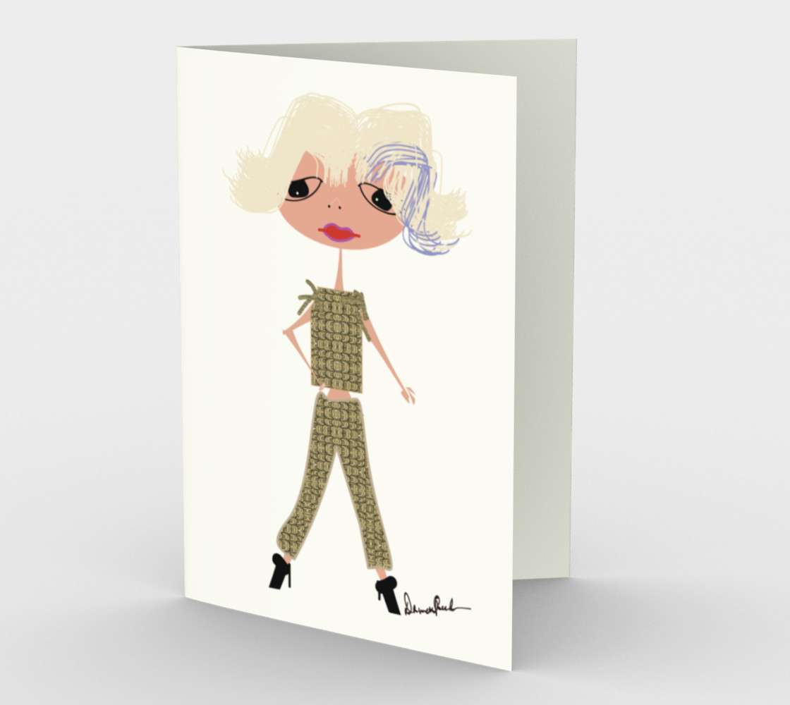 """""""Bebe"""" by Mary Lou Watson Design preview #1"""