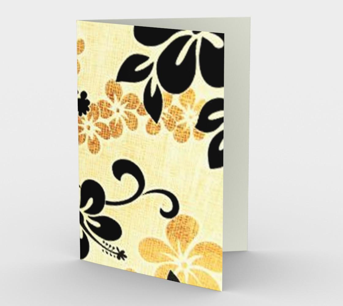Black and Khaki Hawaiian Hibiscus preview #1