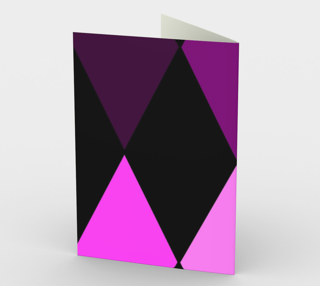Purple Fade Harlequin Circus Diamonds preview #2