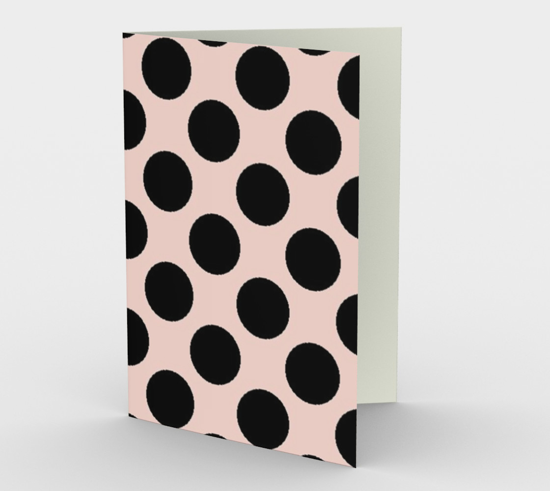 My Baby Girl Black Dots on Pink preview #1