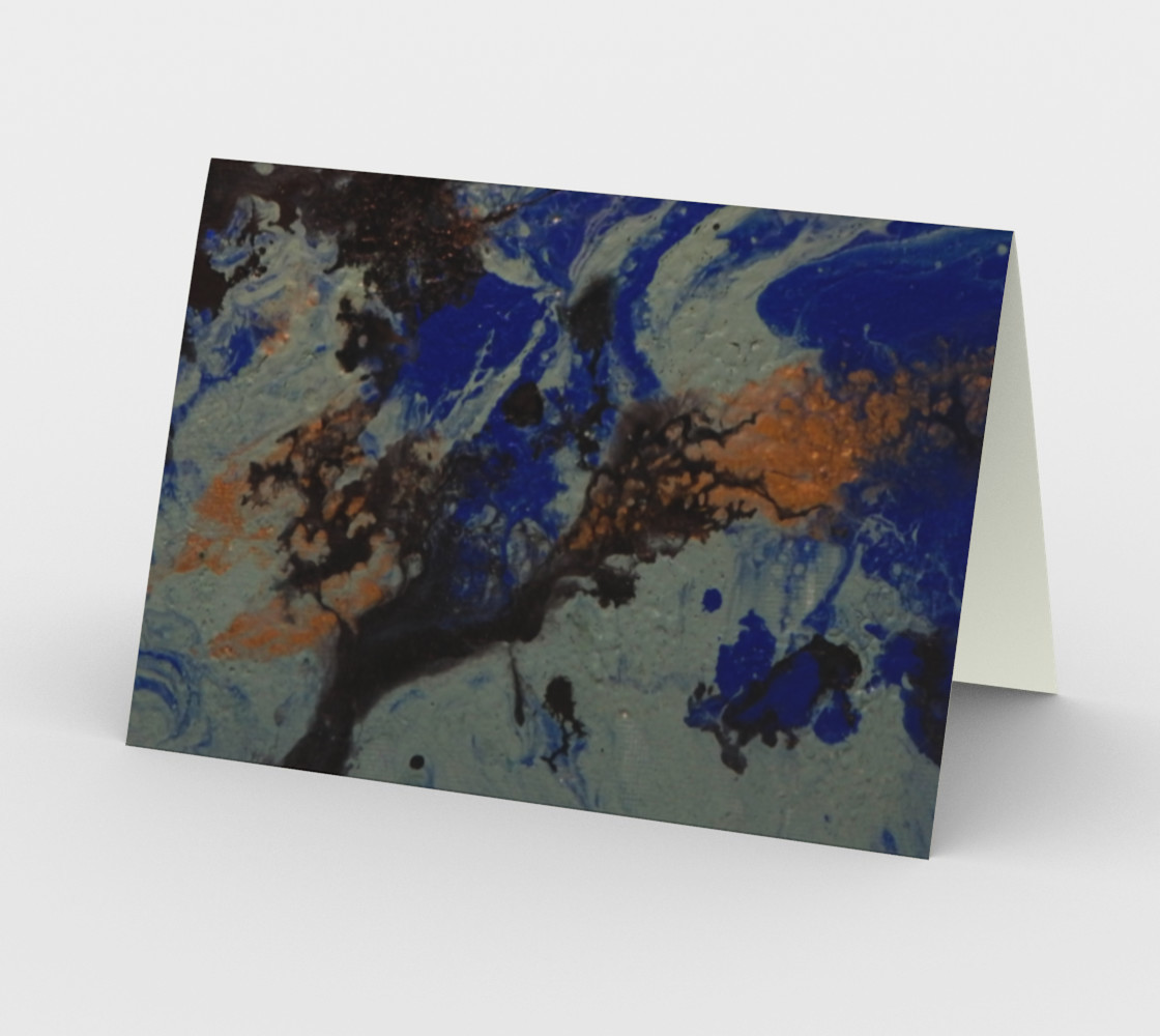 Coral Ocean Card preview #2