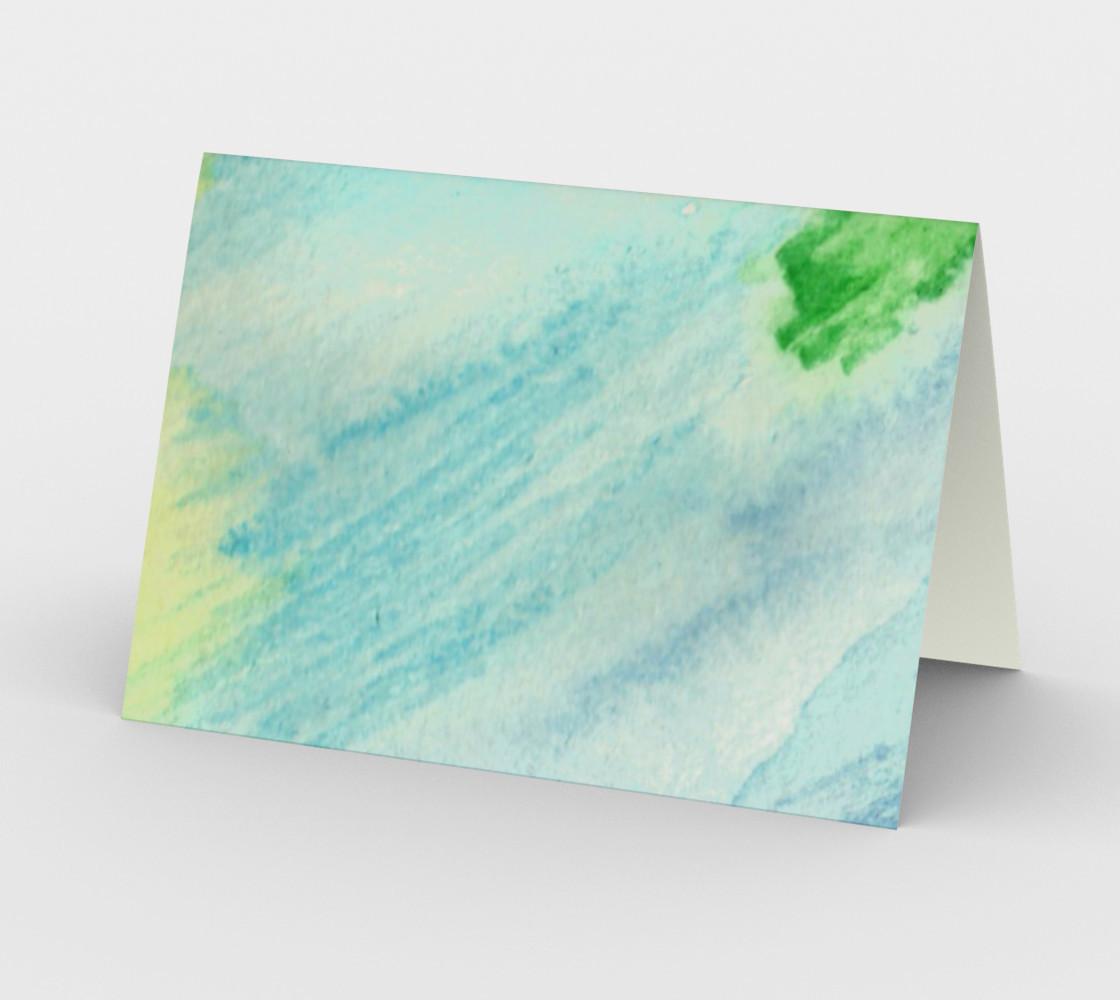 Ocean Rainbow Card preview #2