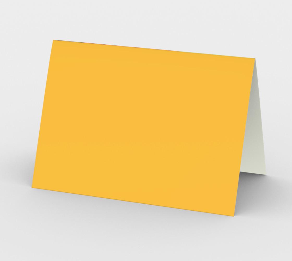 Giant Orange Poppy Card preview #2