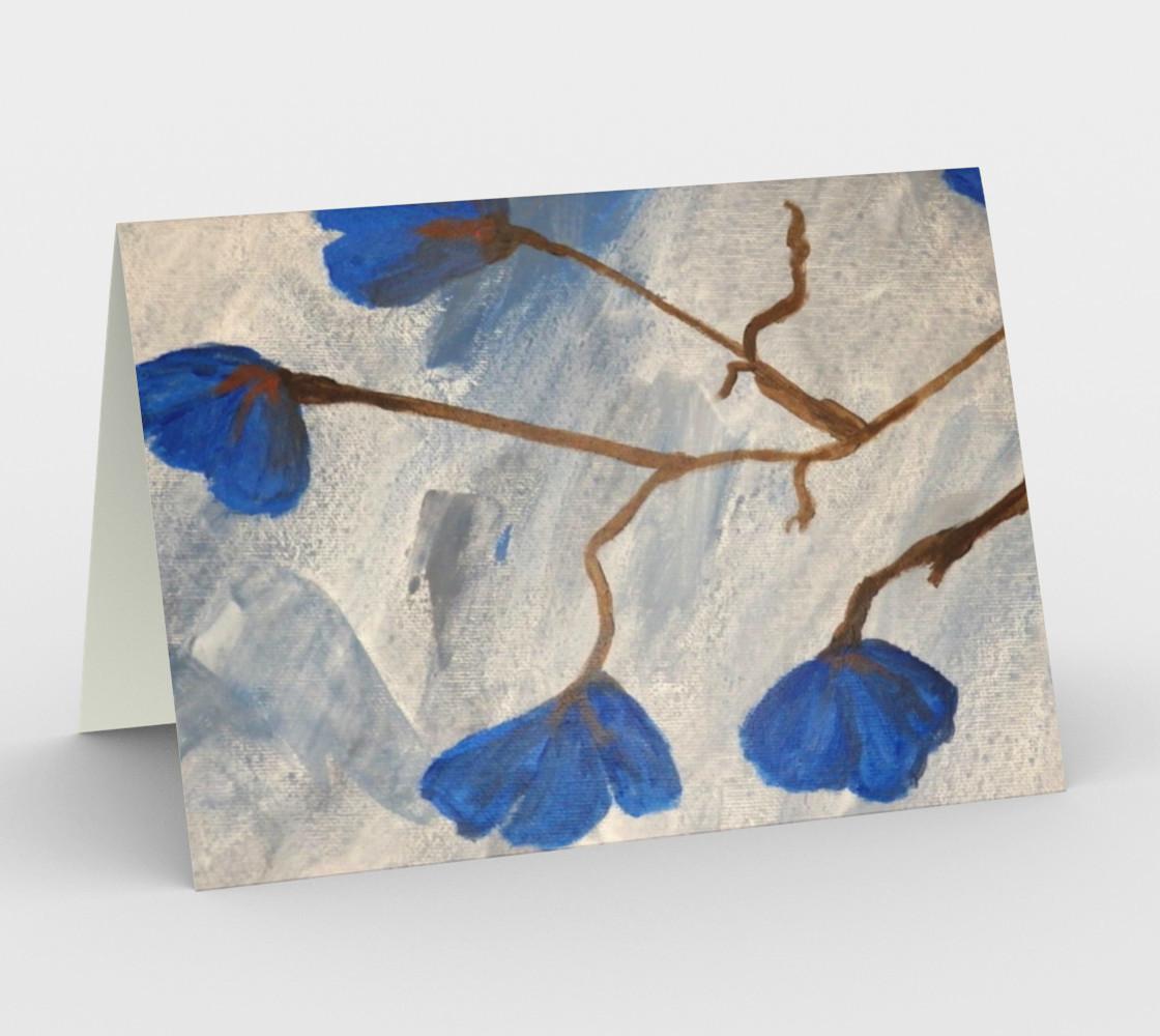 Azur Floraison Card preview #1