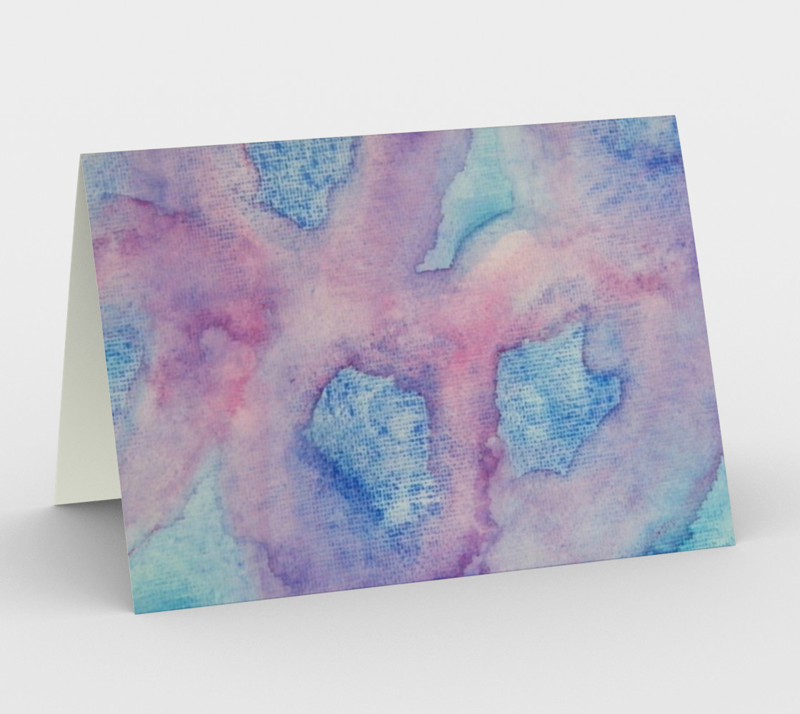 Chantant Violettes Card preview #1