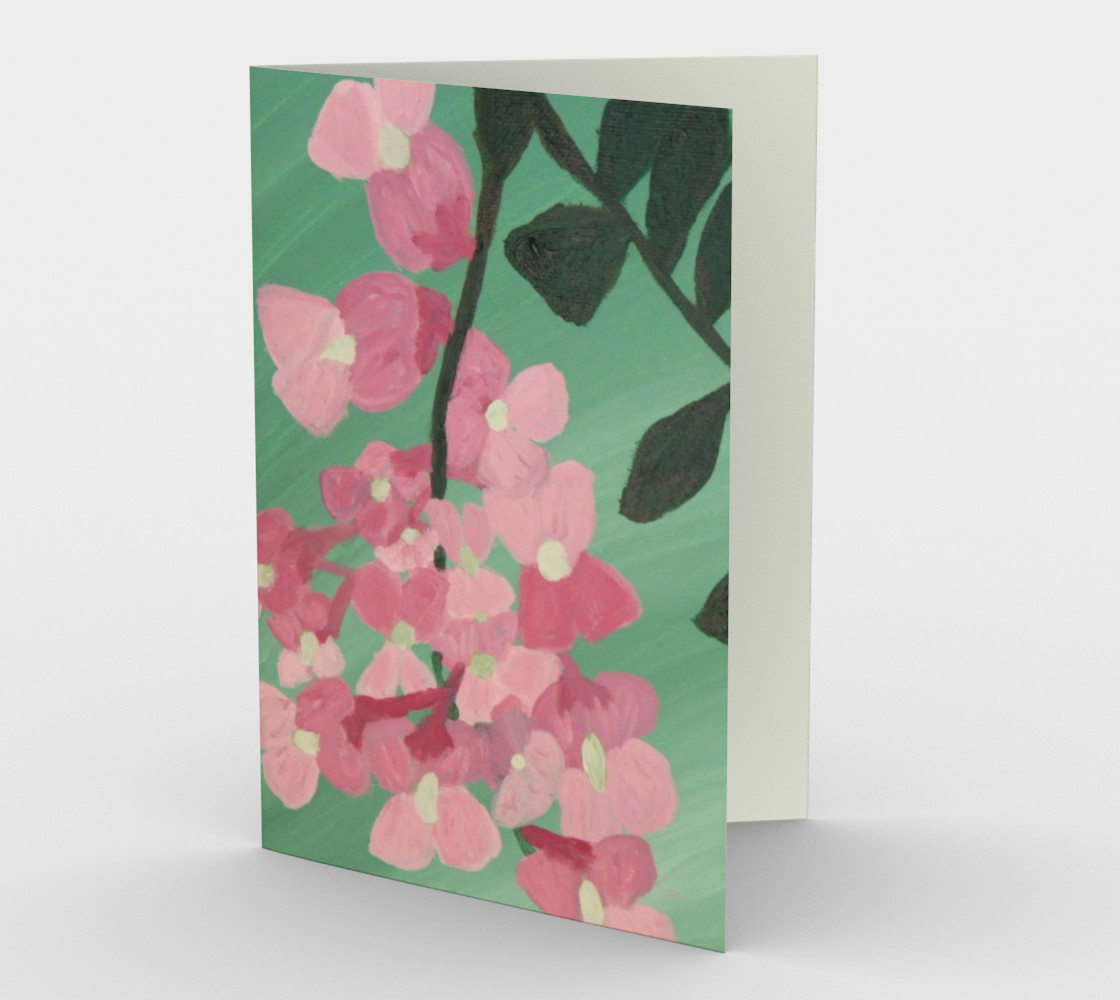 Pink Robinia Card preview #1